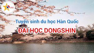 đại học Dongshin tuyển sinh
