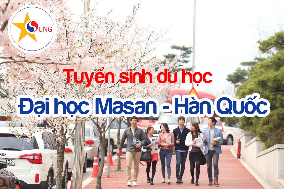 Tuyển sinh đại học Masan Hàn Quốc